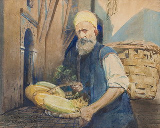 Handlarz owoców z Konstantynopola, 1919