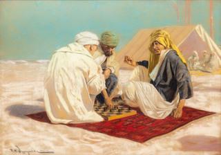 Gra w szachy na pustyni