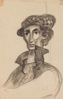 Autoportret w berecie
