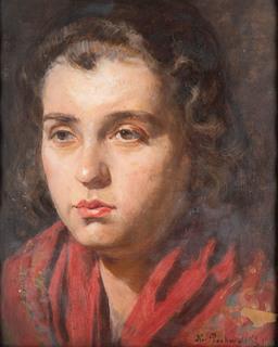 Portret dziewczyny, 1929