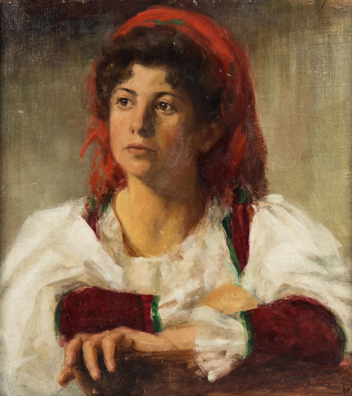 Portret dziewczyny, ok. 1900 r.
