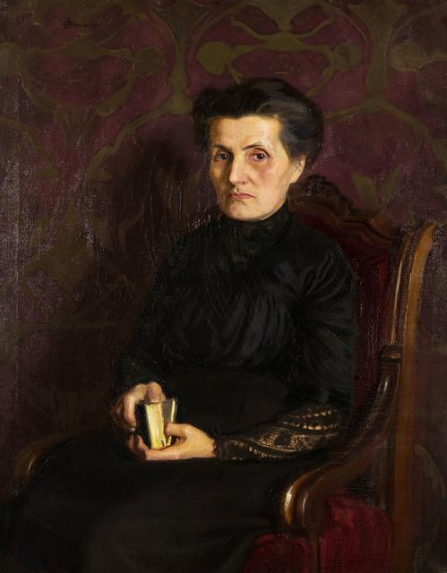 Portret matki artysty, 1911 r.