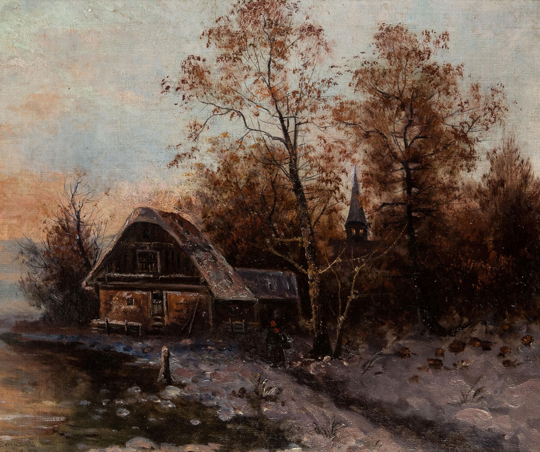 Stary dom pod miastem, 1891 r.
