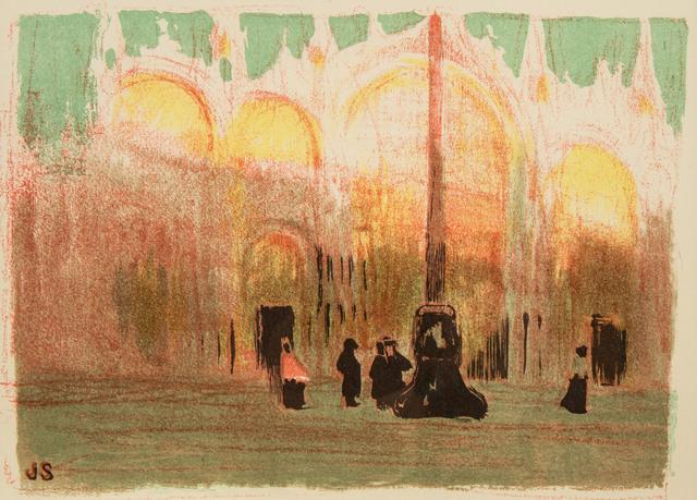 Plac Św. Marka w Wenecji, 1909 r.