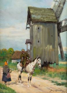 Dziewczyna i ułan, 1935 r.
