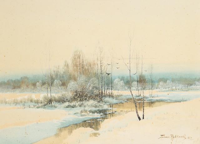 Zima, 1872 r.