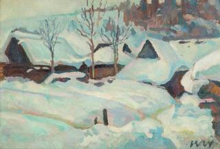Zima w Zakopanem, 1962 r.