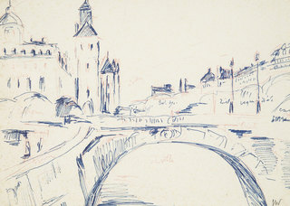 Paryż nad Sekwaną, lata 70. XX w.