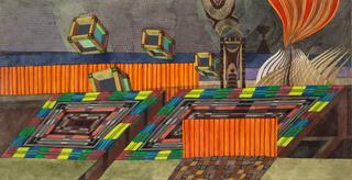 Pejzaż z filozofami, 1969 r.