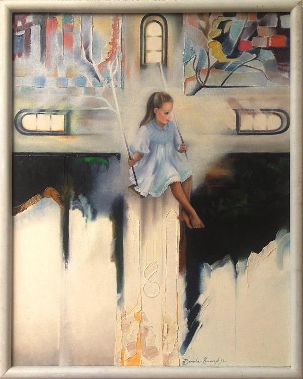Dziewczynka na huśtawce, 1995