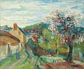 Widok z małego miasteczka, 1937-1943