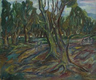 """""""Piknik w lesie"""", 1926-1930"""