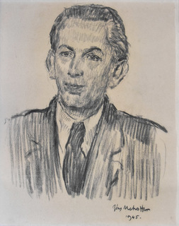 """""""Portret młodego mężczyzny"""", 1945"""