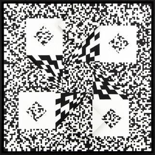 """""""Penetracja przestrzeni industrialnej w ruchu wirowym"""", 1972-73"""