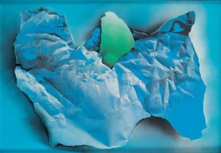 """""""Chmura z zielonym akcentem"""", 1977"""
