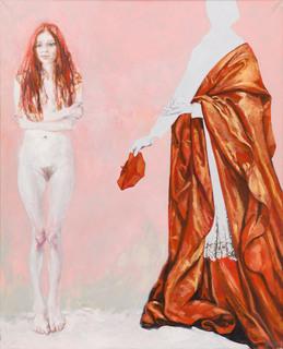 """""""Czerwony"""" z cyklu """"9 obrazów"""", 1994"""
