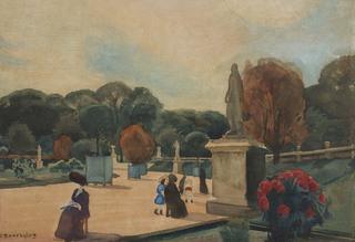 Ogród Luksemburski, 1910-11