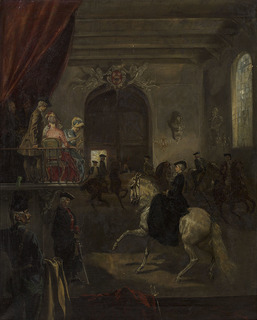 Szkoła jazdy Stanisława Augusta Poniatowskiego, 1883 (Królewska ujeżdżalnia za czasów Stanisława Augusta)
