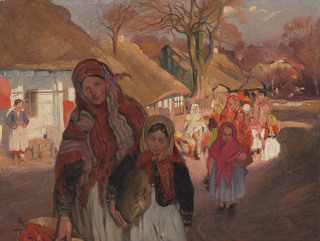 Wielkanoc w Bronowicach, 1904