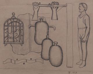 Klatka i worki, 1929