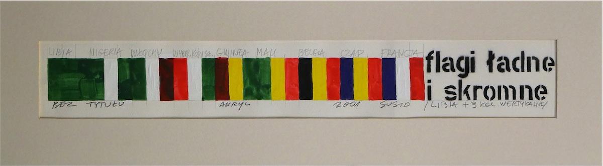 Bez tytułu (Flagi ładne i skromne /Libia + 3 kolory wertykalne)