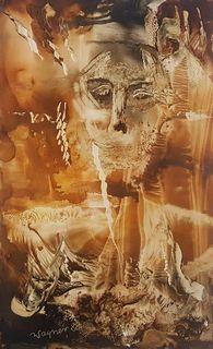 Portret kompozycja barwna, 1988 r.