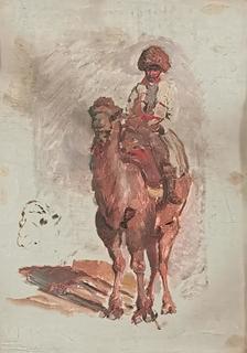 Jeździec wschodni - szkic