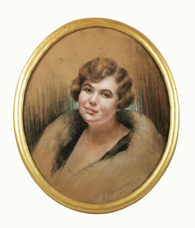 Portret hrabiny Alicji Litow, 1933