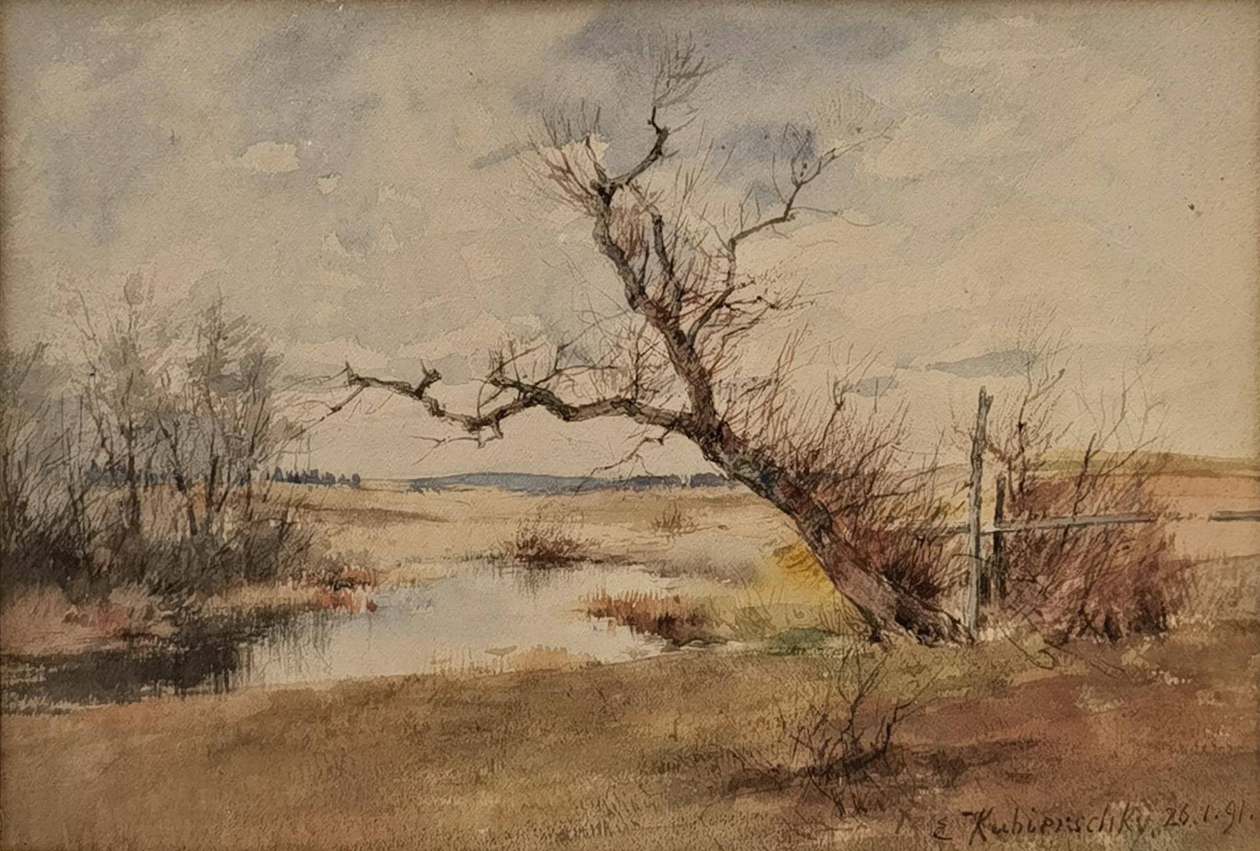 Pejzaż, 1891