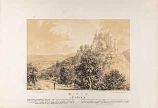Zamek w Mirowie, 1883