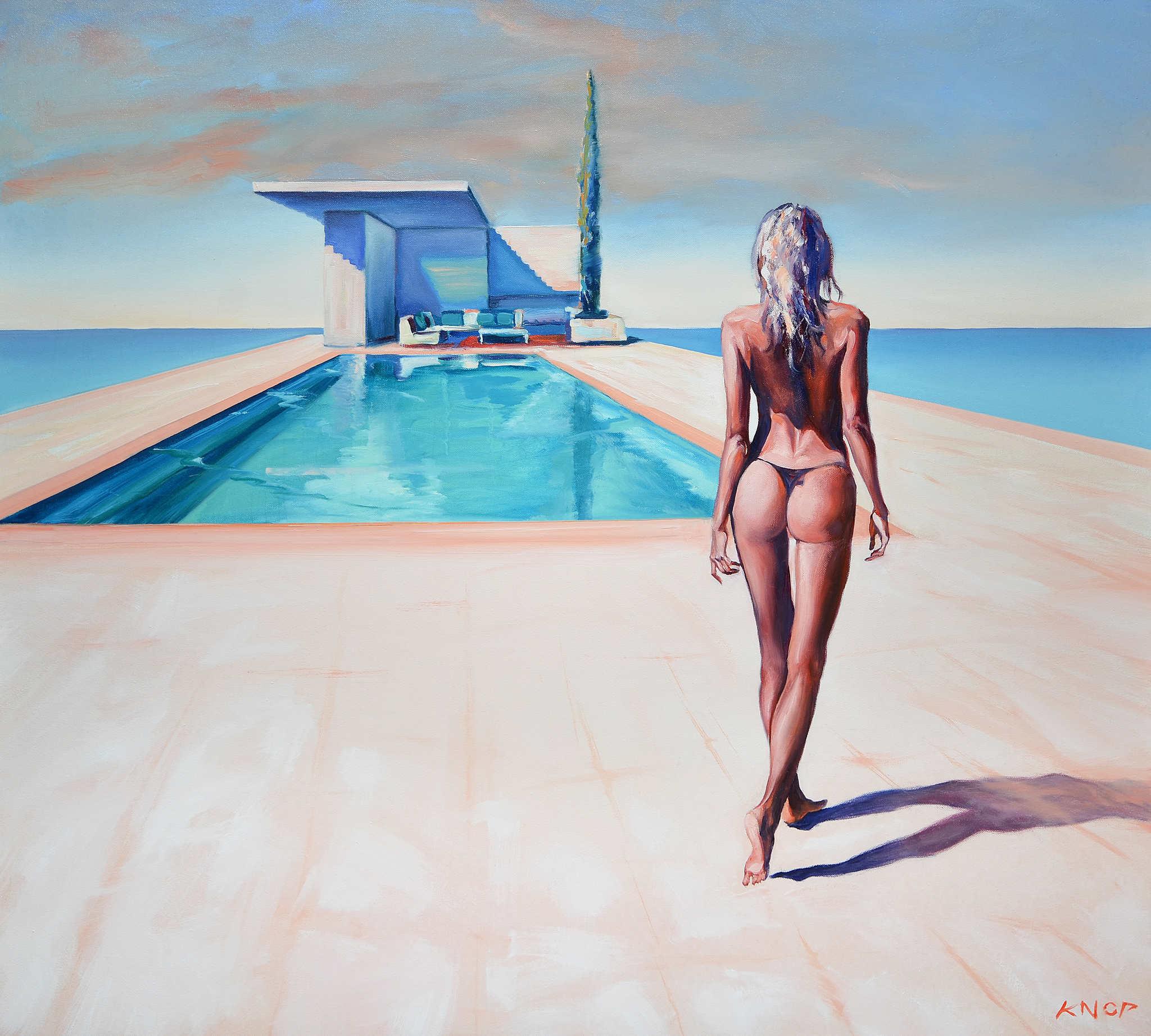 Madame V Angel 16 z serii Swimming Pool, 2021