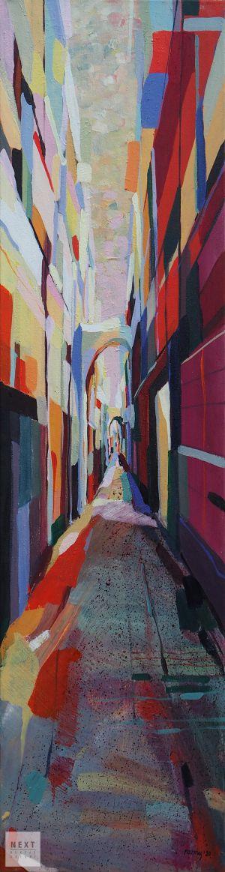 Cinque Terre – uliczka, 2020 r.