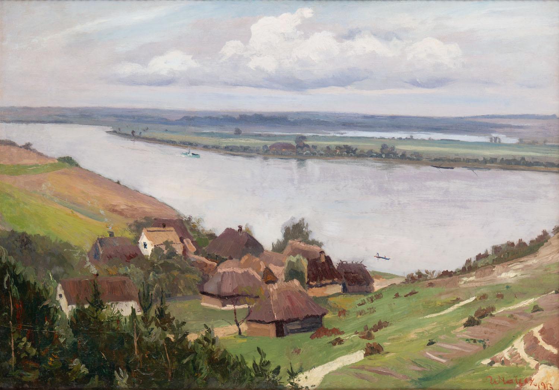 """Mięćmierz (""""Wioska nad Wisłą""""), 1913"""