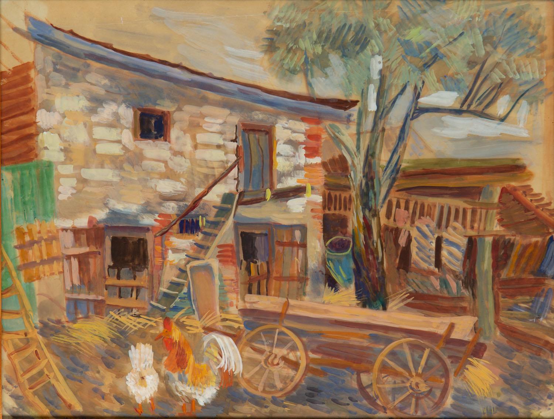 Zagroda w Kazimierzu Dolnym, 1941
