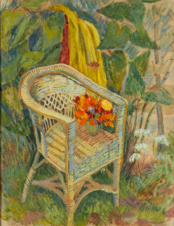 Fotel w ogrodzie, 1941