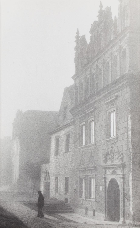 Kamienica Celejowska o poranku, lata 50. XX w.