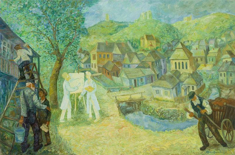 """""""Bliźniacy (Hommage dla braci Seidenbeutel)"""", 1991"""