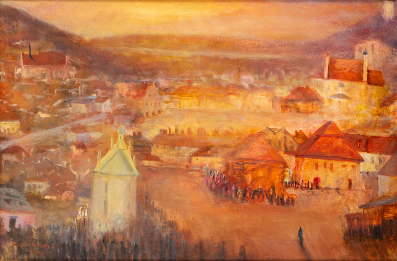Kazimierz Dolny. Pejzaż w czerwieni, 2006
