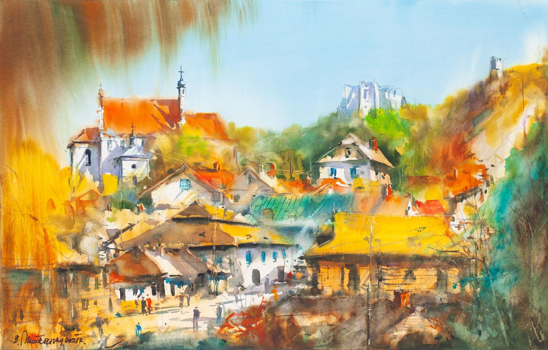"""""""Kazimierz Dolny - panorama"""", 2021"""