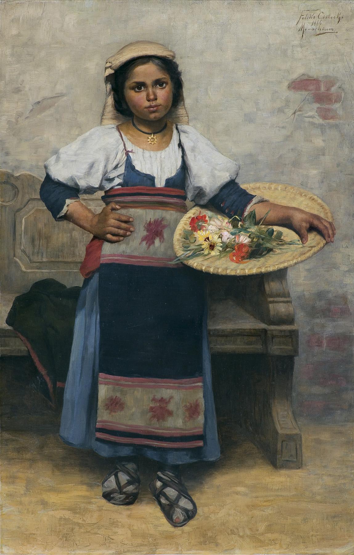 KWIACIARECZKA, 1886