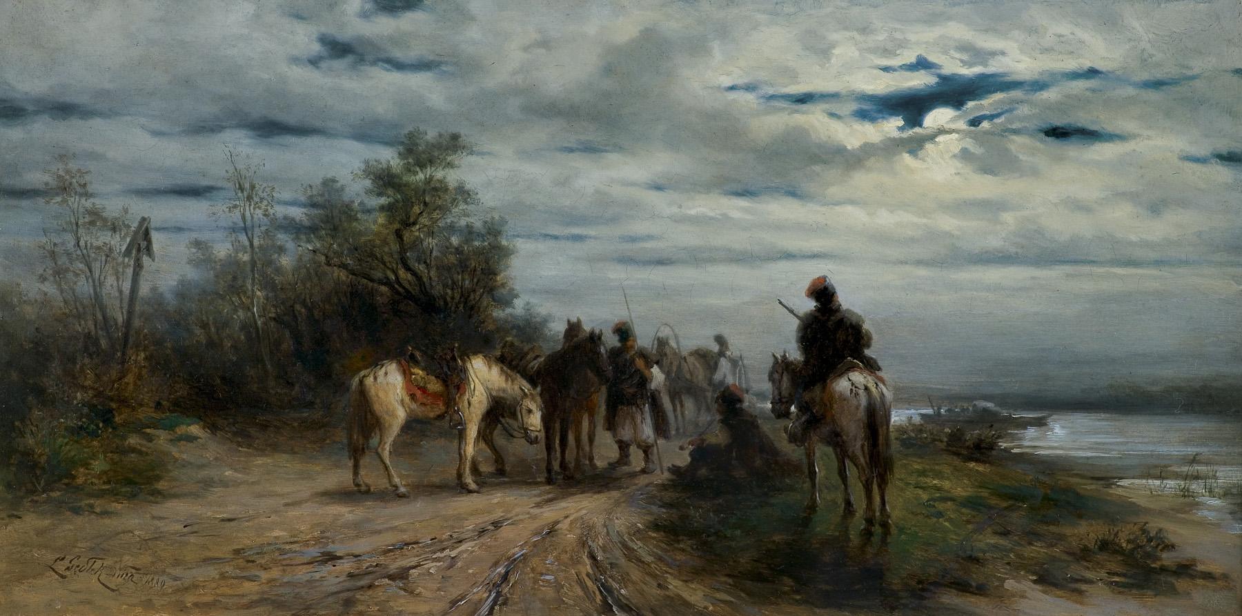 NOCNY ZWIAD, 1889