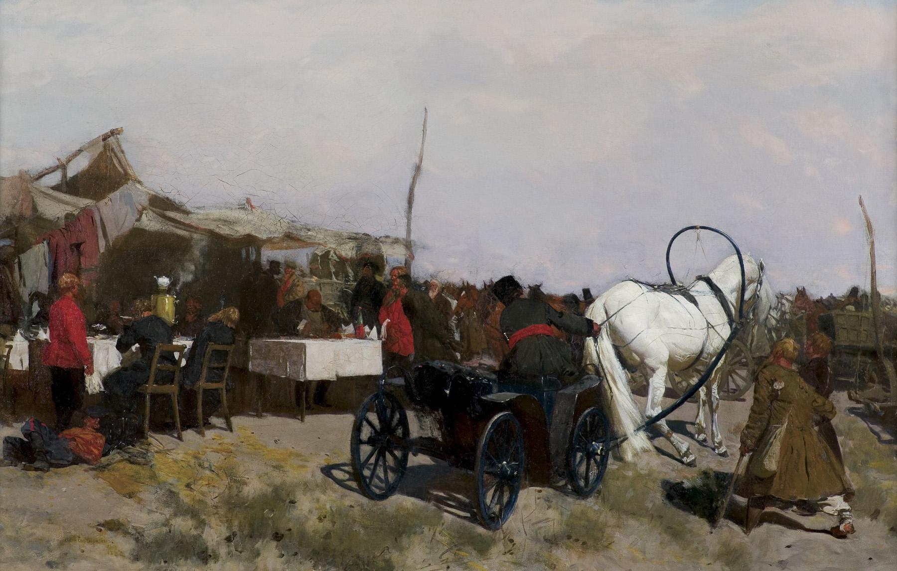 NA JARMARKU, 1882