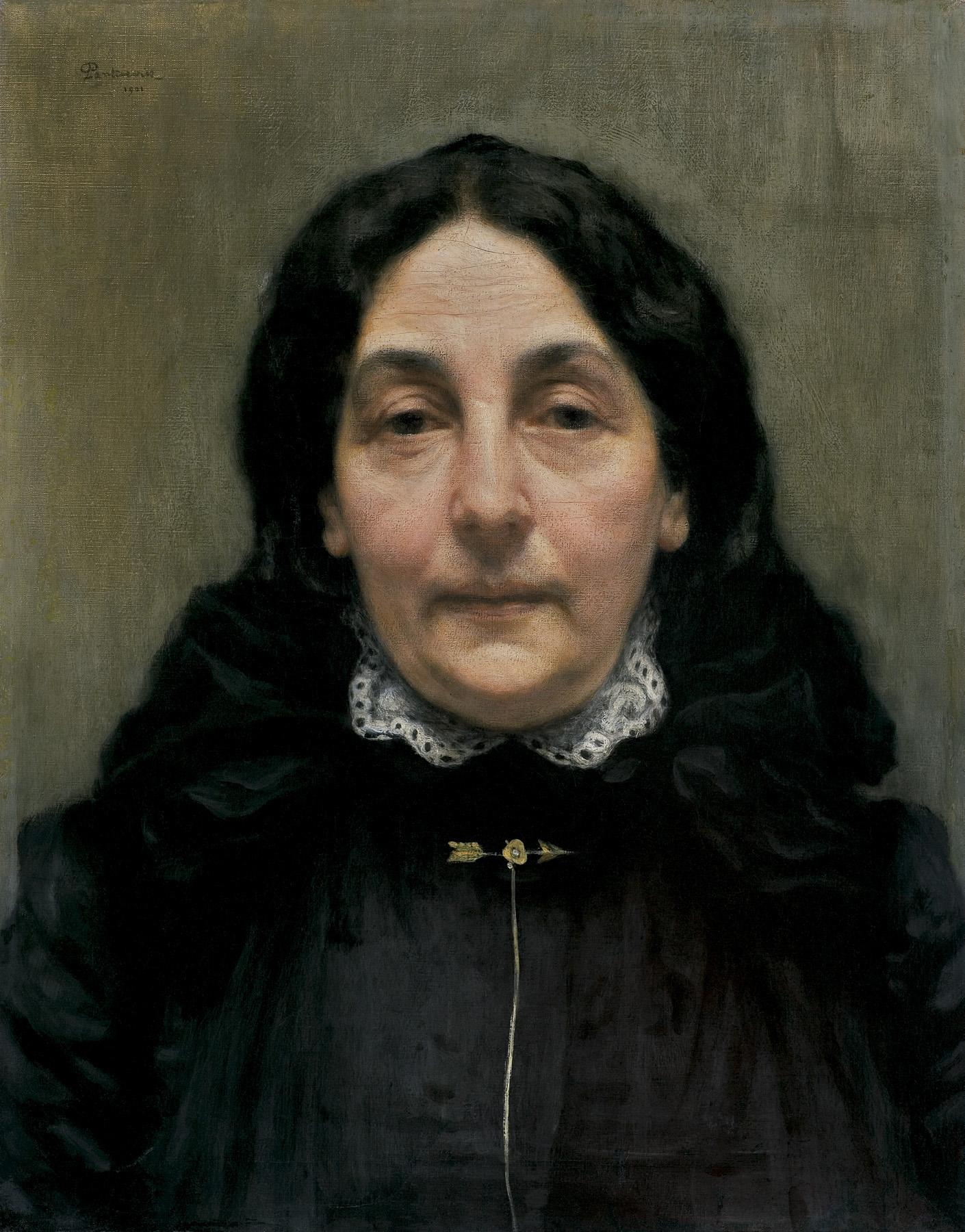 PORTRET PANI P., 1901