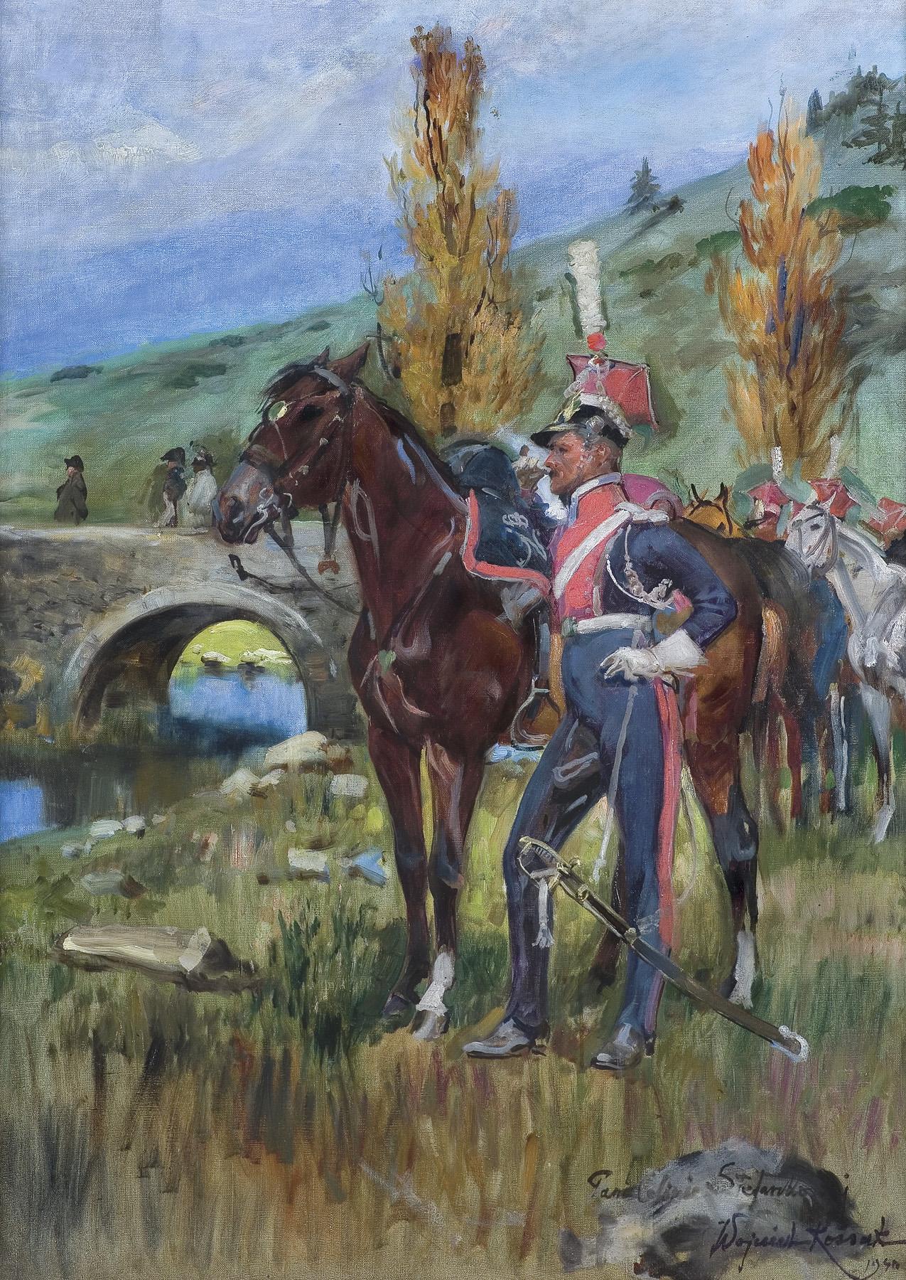 SZWOLEŻER GWARDII POLSKIEJ POD SOMOSIERRĄ, 1940