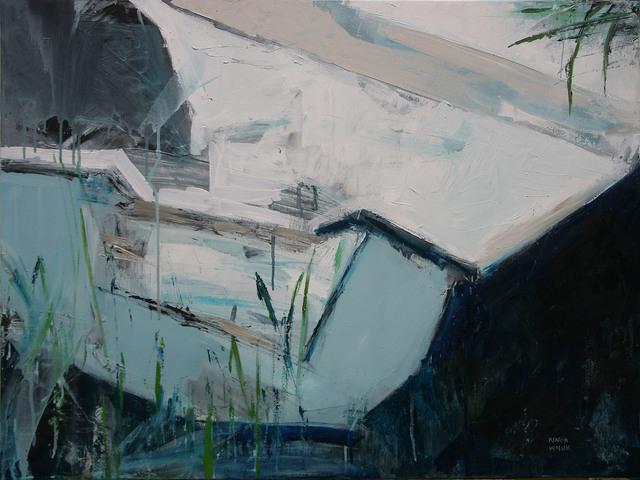 Kompozycja z łódką, 2020