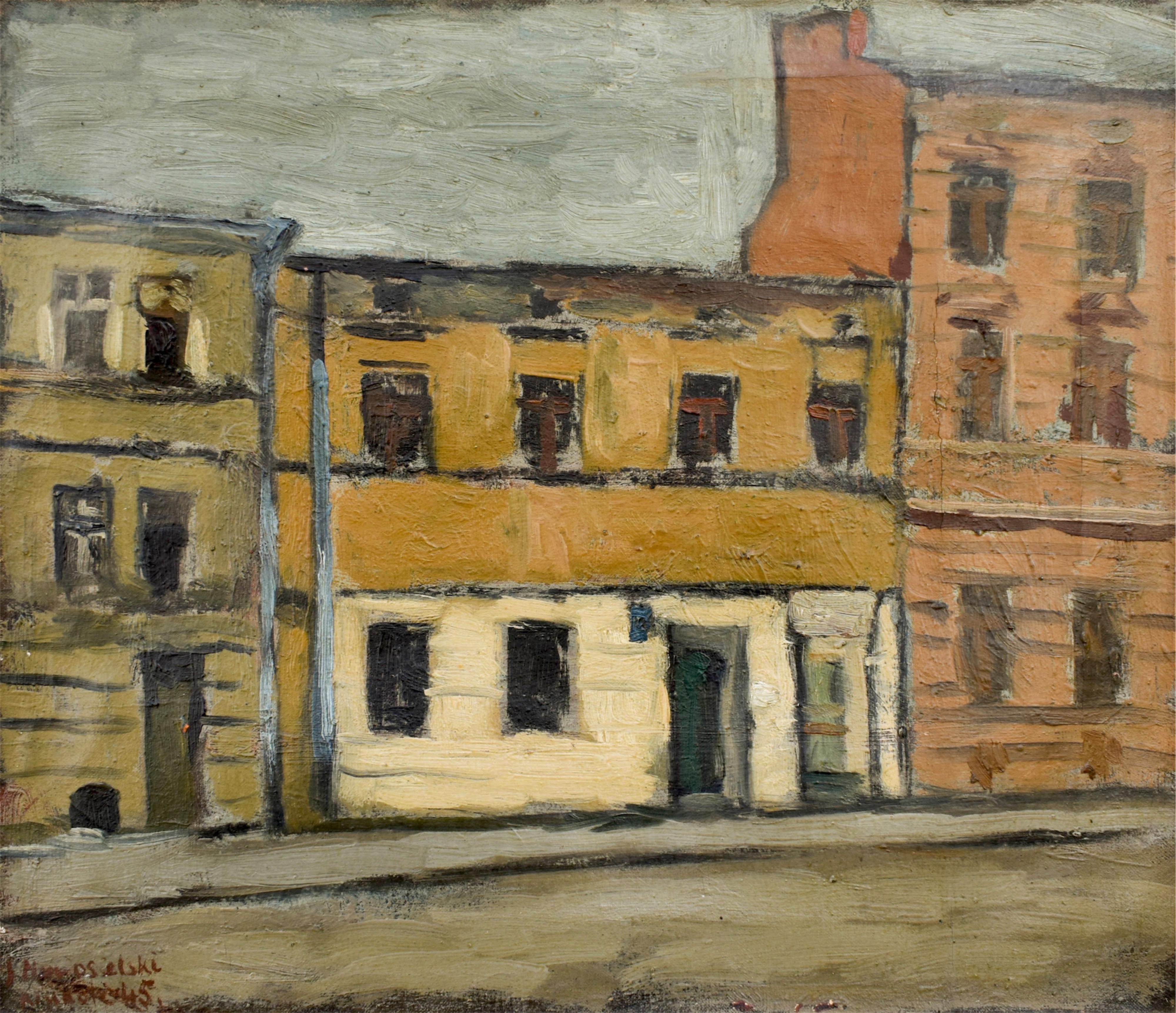 Ulica Karmelicka w Krakowie, 1945