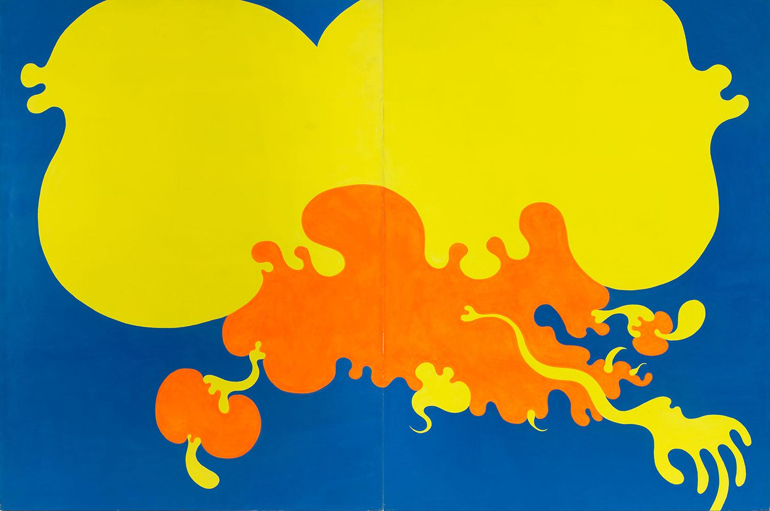 """""""Gorące pnącze"""" - dyptyk, 1973"""