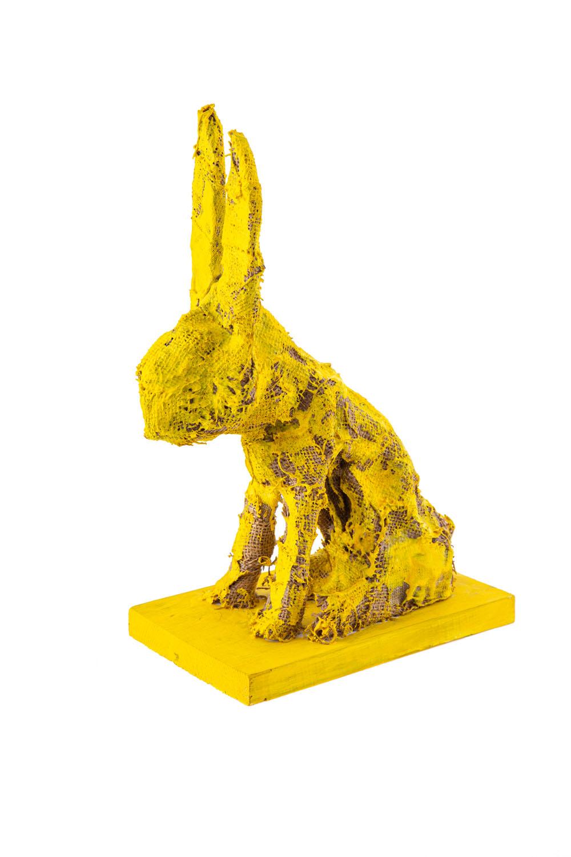 """""""Żółty zając"""", 2014"""
