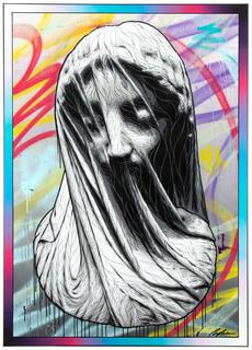 """Veiled virgin"", 2021"