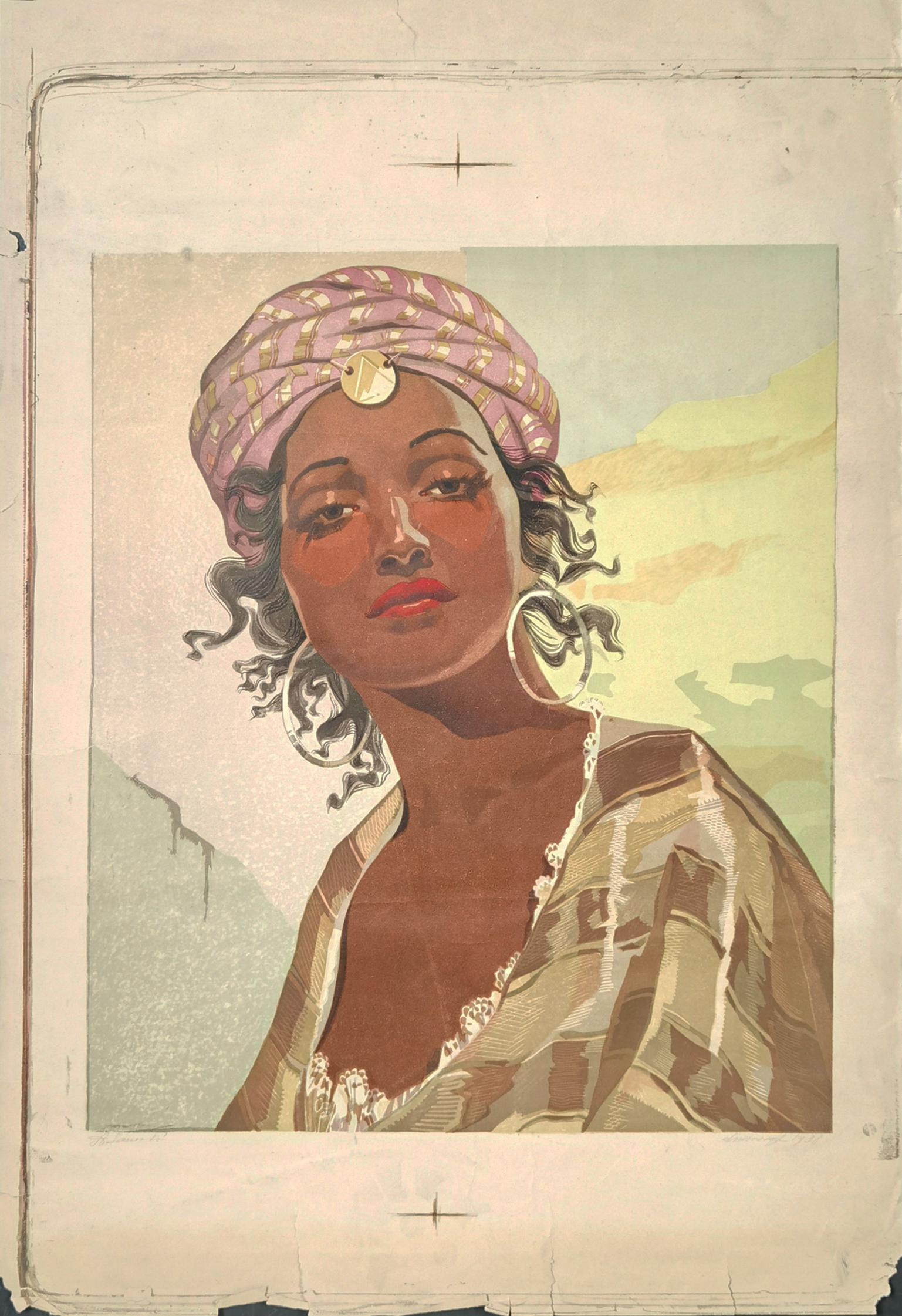 Córka Ben Brahima, 1938